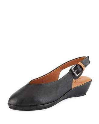 Gentle Souls Noemi Leather Slingback Flats
