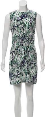 Stella McCartney Silk Abstract Dress