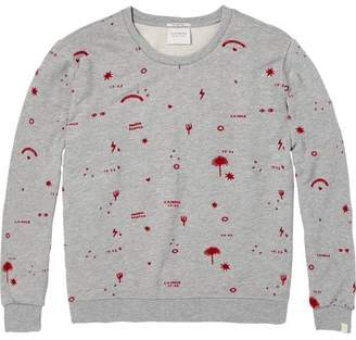 Scotch & Soda All-Over Artwork Sweatshirt