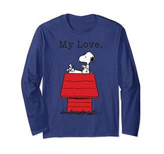 Peanuts My Love Snoopy Long Sleeve T-Shirt