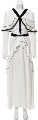 Proenza Schouler 2016 Off-The-Shoulder Maxi Dress White 2016 Off-The-Shoulder Maxi Dress