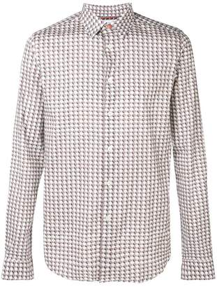 Paul Smith printed slim fit shirt