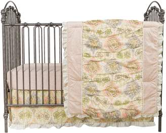 Trend Lab Waverly Baby By Waverly Baby by Rosewater Glam 3-pc. Crib Bedding Set by