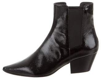 Ash Pointed-Toe Ankle Boots