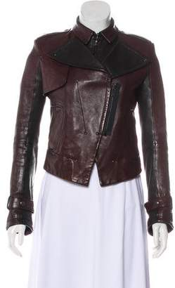 Kelly Wearstler Leather Moto Jacket