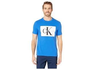 Calvin Klein Jeans Box Monogram Crew Neck Short Sleeve Tee