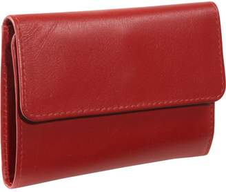 Derek Alexander Leather Derek Alexander Slim Wallet, Zip Change