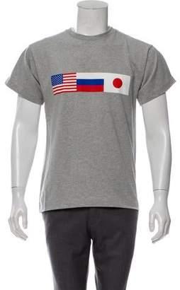 d0671ba58 Gosha Rubchinskiy Flag Graphic T-Shirt w/ Tags