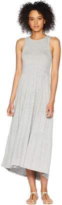 Lucky Brand Open Back Smocked Dress Women's Dress