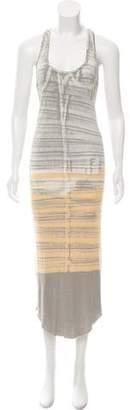 Raquel Allegra Printed Maxi Dress