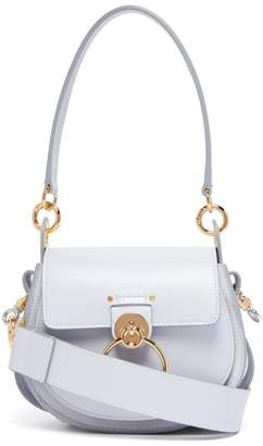 Chloé Tess Small Leather Cross Body Bag - Womens - Light Blue