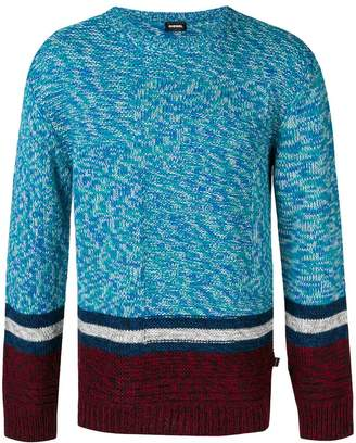 Diesel wool crew neck jumper