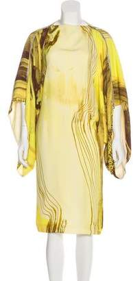 Todd Lynn Draped Midi Dress