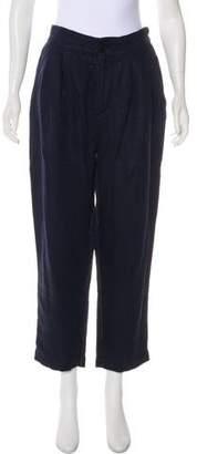 Pas De Calais High-Rise Linen Pants