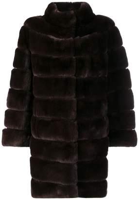 Braun Liska paneled short coat