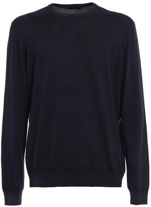 Fay Garment-dyed Wool Sweater