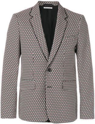 Paul & Joe geometric print blazer