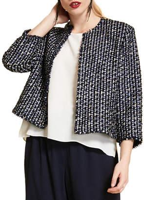 Marina Rinaldi Plus Size Boucle Short Jacket