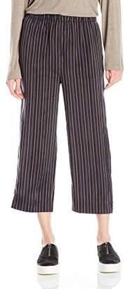 Vince Women's Stripe Slouchy Crop Pull-on