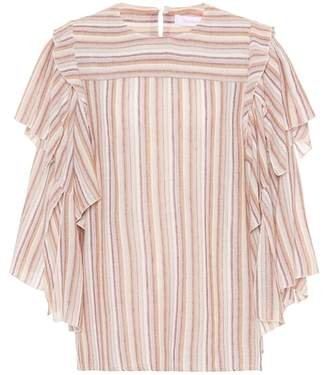 See by Chloe Striped top