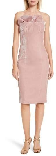 Women's Cinq A Sept Marceau Velvet Dress