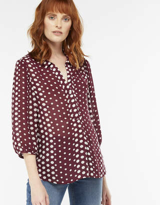 Monsoon Scotty Spot Print Shirt