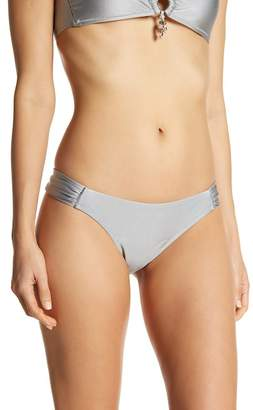 Letarte Ruched Hipser Bikini Bottoms
