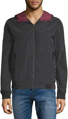 Scotch & Soda Men's Full-Zip Hooded Jacket