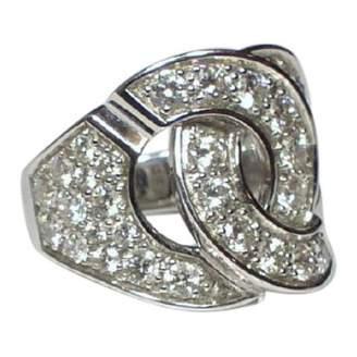 Dinh Van Menottes White White gold Ring