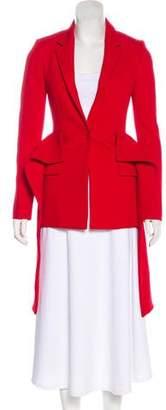 Givenchy Wool Peplum Blazer w/ Tags