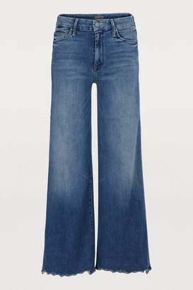 Mother The Roller ankle chew jeans
