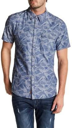 Seven7 Classic Fit Camo Shirt