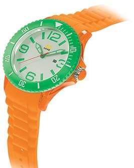 40Nine Unisex 40NINE03/ORG1 Medium Watch with Silicone Band