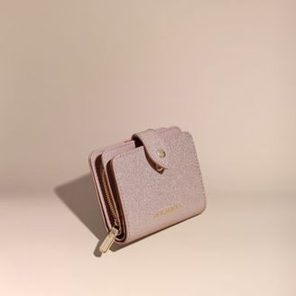 Burberry Glitter Patent London Leather Wallet $395 thestylecure.com