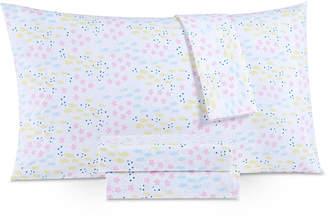 Laura Hart Kids Printed Microfiber 3-Pc. Twin Sheet Set Bedding