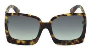 Tom Ford Women's Katrine 60MM Square Sunglasses - Beige Bordeaux