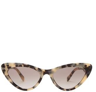 Miu Miu Cat-eye tortoiseshell sunglasses