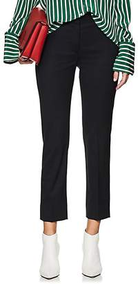Barneys New York Women's Twill Trousers - Navy