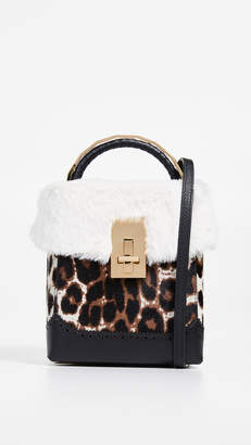 At Bop The Volon Great L Faux Fur Box Bag