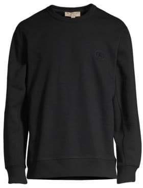 Burberry Loop Back Jersey Sweatshirt