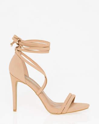 Le Château Nubuck Leather-Like Ghillie Tie Sandal