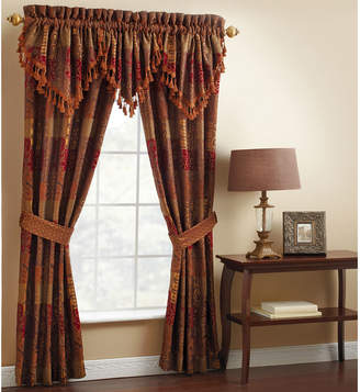 Croscill Classics Catalina Red 2-pack Curtain Panels