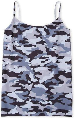 N. Malibu Sugar (Girls 7-16) Camouflage Camisole