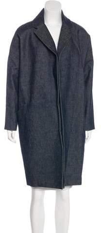 Martin Grant Denim Knee-Length Coat