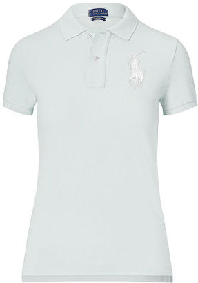 Polo Ralph Lauren Skinny Fit Big Pony Polo Shirt $98.50 thestylecure.com