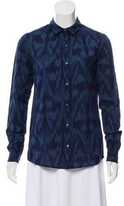 Scotch & Soda Ikat Button-Up Top w/ Tags