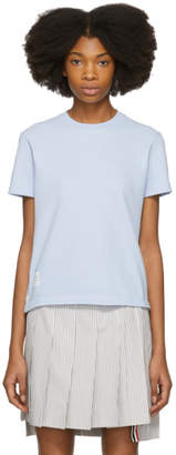 Thom Browne Blue Classic Pique Relaxed T-Shirt