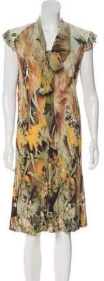 Jean Paul Gaultier Printed Knee-Length Dress