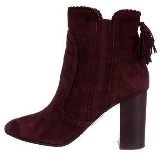Aquazzura Boho Beatle Ankle Boots