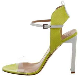 Reed Krakoff Atlas Snakeskin Sandals w/ Tags